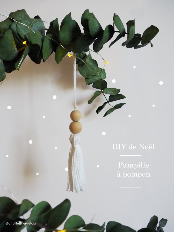 DIY de Noël # 2 – Pampille àpompon